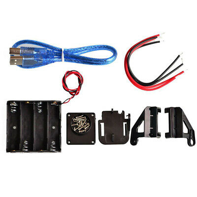 For Arduin Robot DIY Kit With switch Avoid Tracking Motor Smart Car Chassis 4WD