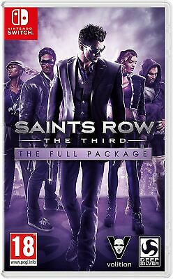 Saints Row The Third - The Full Package Nintendo Switch Game