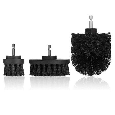 1X(3 Pcs Power Scrubber Drill Brush Attachment Set - Cleaning Supplies,All  7D6)