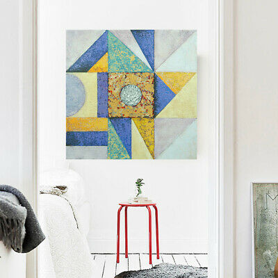 Framed Abstract Pattern Hand Painted Oil Painting Stretched Canvas Home Decor