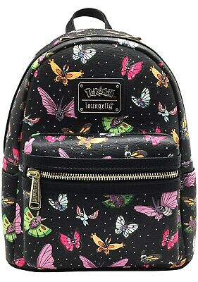 NEW Loungefly X Pokemon Butterfly AOP Mini Backpack - SALE