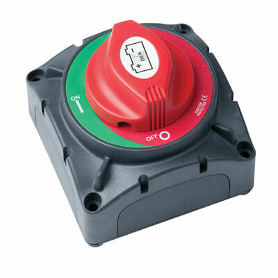 RV Marine Heavy Duty Battery Switch 600A Continuous Crank Rate:  12V Disconnect