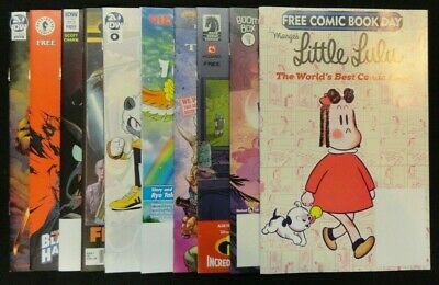 Free Comic Book Day 2019 Bundle Lot of 38 Spawn Avengers Star Wars Minecraft