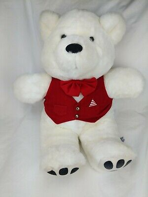 HARRODS LONDON UK Golden Plush Teddy Bear 15in Beefeater