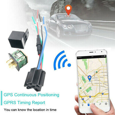 Car Moto Vehicle GPS Tracker Realtime GSM GPRS Locator Tracking Device R7X5