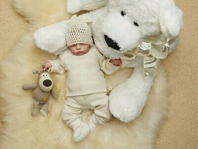Baby Unisex Sweater -100 % Italian Cashmere Jumper - Made in Italy