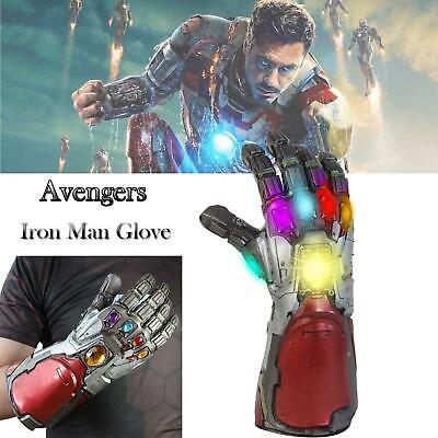 2019 LED Light Thanos Infinity Gauntlet Marvel Legends Gem Gloves Avengers 4
