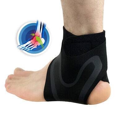 Elastic Ankle Foot Support Brace Sleeve Guard Football Basketball Protector