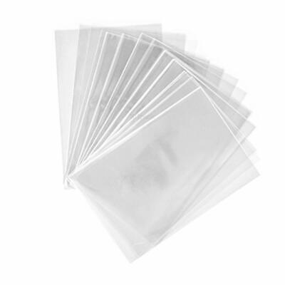 200 sac plastique transparent cellophane 10 x 15 cm alimentaire emballage en sac