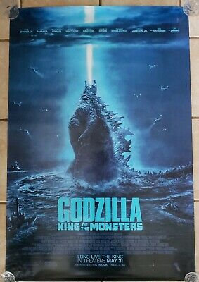 Godzilla King of The Monsters 27x40 Double Sided Movie Theater Poster FINAL