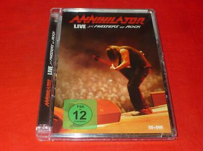 Live at Masters of Rock [DVD] by Annihilator (CD, Oct-2009, 2 Discs)