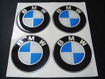 NEW 4 pcs For BMW 65 mm.Resin Wheel Center Caps Logo Badge Decal Emblem Sticker
