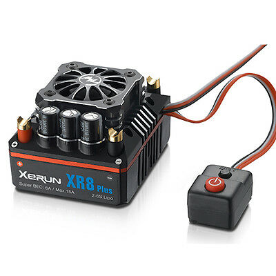 HOT HOBBYWING XERUN Competition RC Brushless SCT PRO ESC Speed