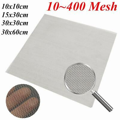 10/20/30/40/60/80/100/200/400 Mesh 304 Stainless Steel Woven Wire Filter Sheet