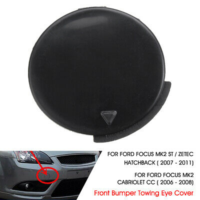 FORD FOCUS II FRONT BUMPER TOW TOWING HOOK EYE CAP COVER 07-11 1521645