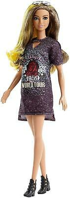 Barbie Fashionistas FJF47 FASHION AND BEAUTY Doll-Ombre Hair, Glitter...