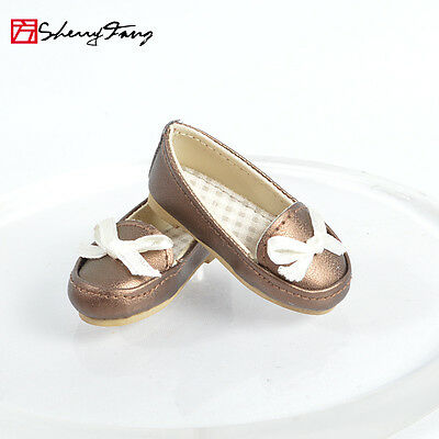 "Brown Sherry Fashion Shoes Pumps for Tonner 10"" 2014 New Patsy body Doll 1-6ds9"