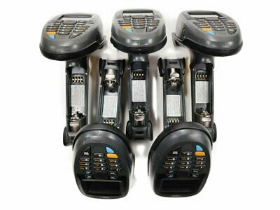 Lot of 5 Motorola Symbol MT2070 MCL Batch Mobile Handheld Barcode Scanners