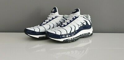 super popular 3ee9e 5c68c Nike air max plus 97 tn 2019 blanc et bleu marine taille 41 UE 7 UK