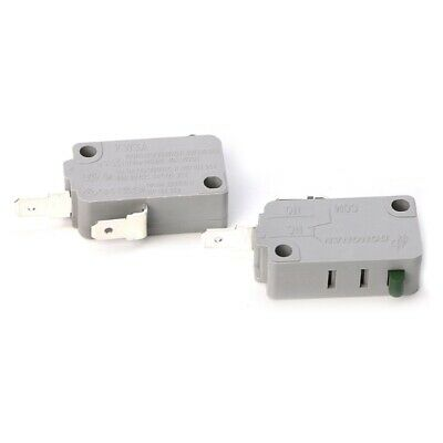 KW3A Microwave Oven Door Micro Switch 125V/250V 16A Normally Open Switch 2Pcs