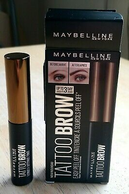 MAYBELLINE Tattoo Brow Easy Peel Off Tint - Light Brown 4.6g