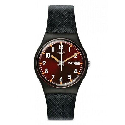 Reloj Swatch Gent SIR RED GB753 correa de silicona