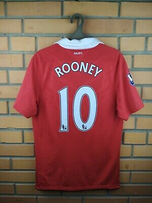 b20fd942a55 Rooney Manchester United jersey small 2010 2011 home shirt soccer football  Nike