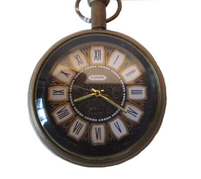 POCKET WATCH with Chain - Mechanical Movement (390)
