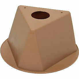 Inventory Cone Tan 3-Sided  - 1 Each