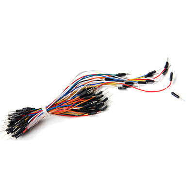 65pcs Male To Male Breadboard Wires Jumper Cable Dupont Wire Bread Board Wires