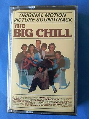 The Big Chill Marvin Gaye Procol Harum Ost Mc 1986 Rca Italy Sealed/Sigillata
