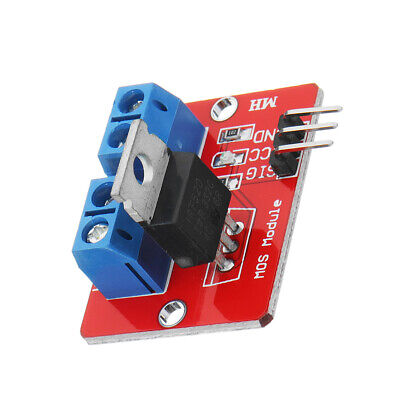 0-24V Top Mosfet Button IRF520 MOS Driver Module For Arduino MCU ARM Raspberry