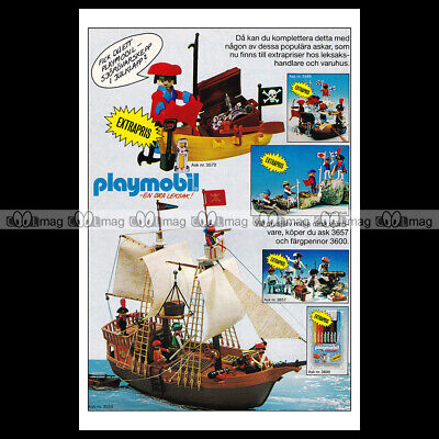 #phpb.001601 Photo PLAYMOBIL VINTAGE CLASSIC A4 Advert Reprint