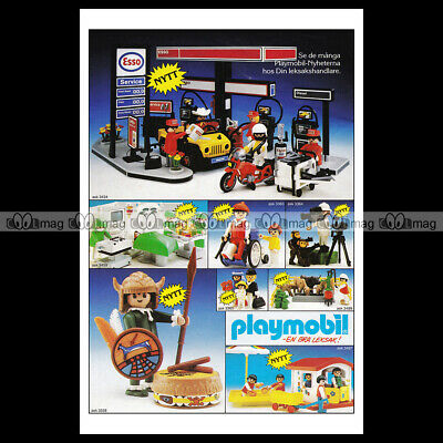 #phpb.001604 Photo PLAYMOBIL VINTAGE CLASSIC A4 Advert Reprint