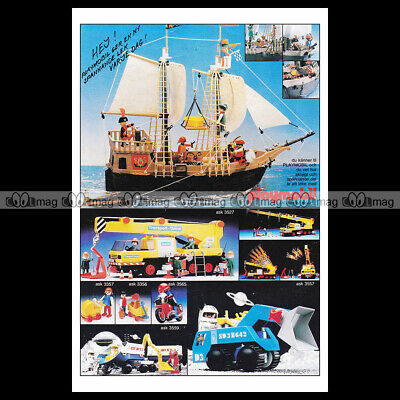 #phpb.001616 Photo PLAYMOBIL VINTAGE CLASSIC A4 Advert Reprint