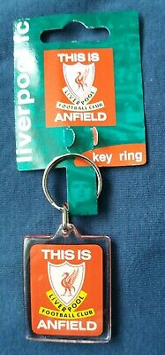 Liverpool FC Double Sided Key Ring Gift Keyring LFC Bill Shankly Quote