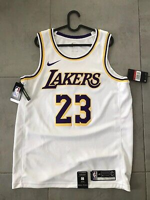 Nike NBA Los Angeles Lakers James Association Jersey Large 48