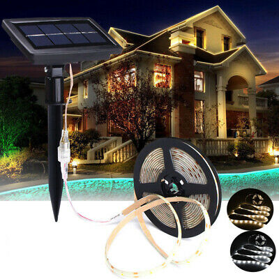 5M SMD2835 Waterproof Solar Powered LED Strip Light for Christmas Outdoor