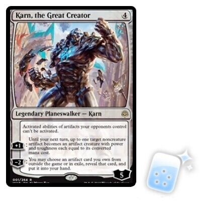 Karn, The Great Creator M/NM Magic: The Gathering MTG War Of The Spark