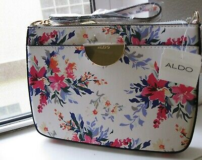 a199fb8a4c7 New White/Floral ALDO Purse Cross Body or Clutch with FREE Shipping