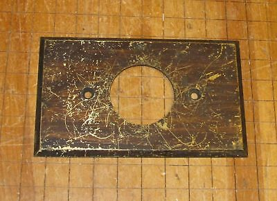 Antique Brass Hubbell Wall Plate For Round Electrical Socket/ Receptical/Switch