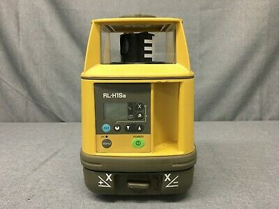USED, TOPCON RL-H1Sa SLOPE SELF-LEVELING LASER LEVEL-