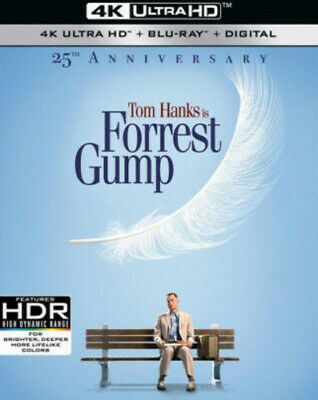 Forrest Gump (25th Anniversary) [New 4K Ultra HD] With Blu-Ray, Anniversary Ed