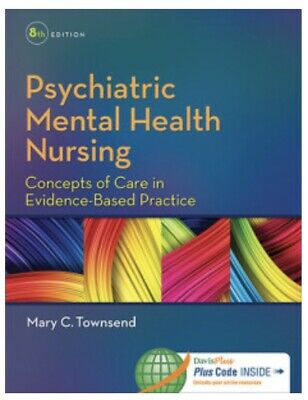 Psychiatric Me tal Health Nursing, 8th Edition (TEST BANK) PDF🔥Receive In 24h🔥