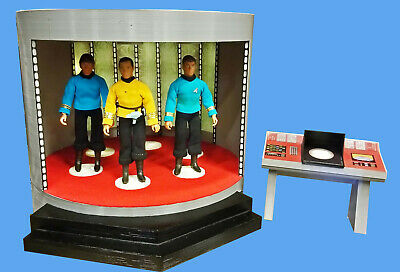 Start Trek TOS Mego Sized Transporter and Console with transporter sound effects