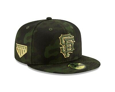 quality design 2e0f8 76179 San Francisco Giants New Era 2019 MLB Armed Forces Day On-Field 59FIFTY Hat