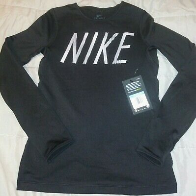 Nike pro warm long sleeve. With Thumb Holes. Girls size M.