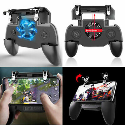 For PUBG Mobile iOS Android Controller Gamepad with Cooling Fan Game Trigger vbn