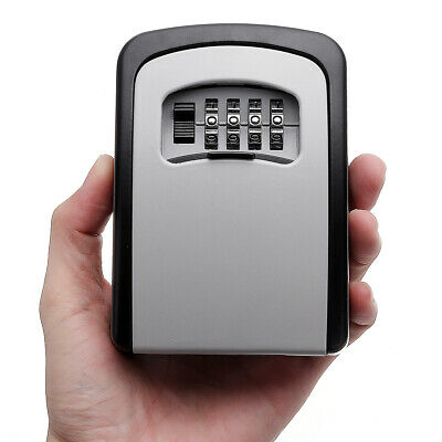 4 Digit Wall-mounted Curved Key Card Password Box
