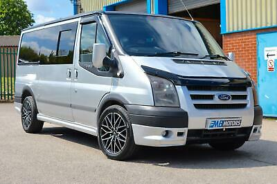 Silver Ford day van/campervan Ford Transit 2.2TDCi ( 140PS )MWB Trend